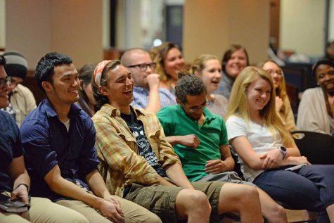 Leave them laughing: campus comedy grows