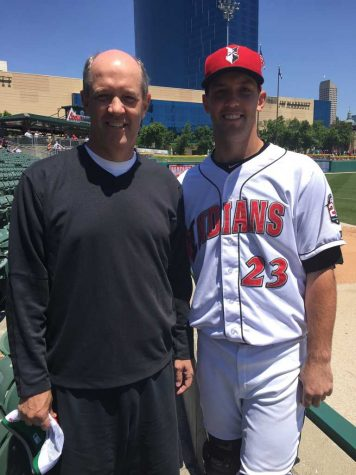 Kevin Stallings and his son, Jacob. Courtesy of Kevin Stallings
