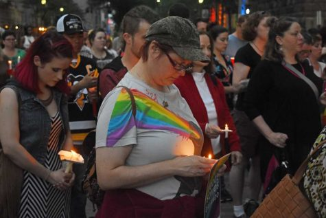 Gallery: Pittsburgh Candlelight Vigil for the Orlando Victims