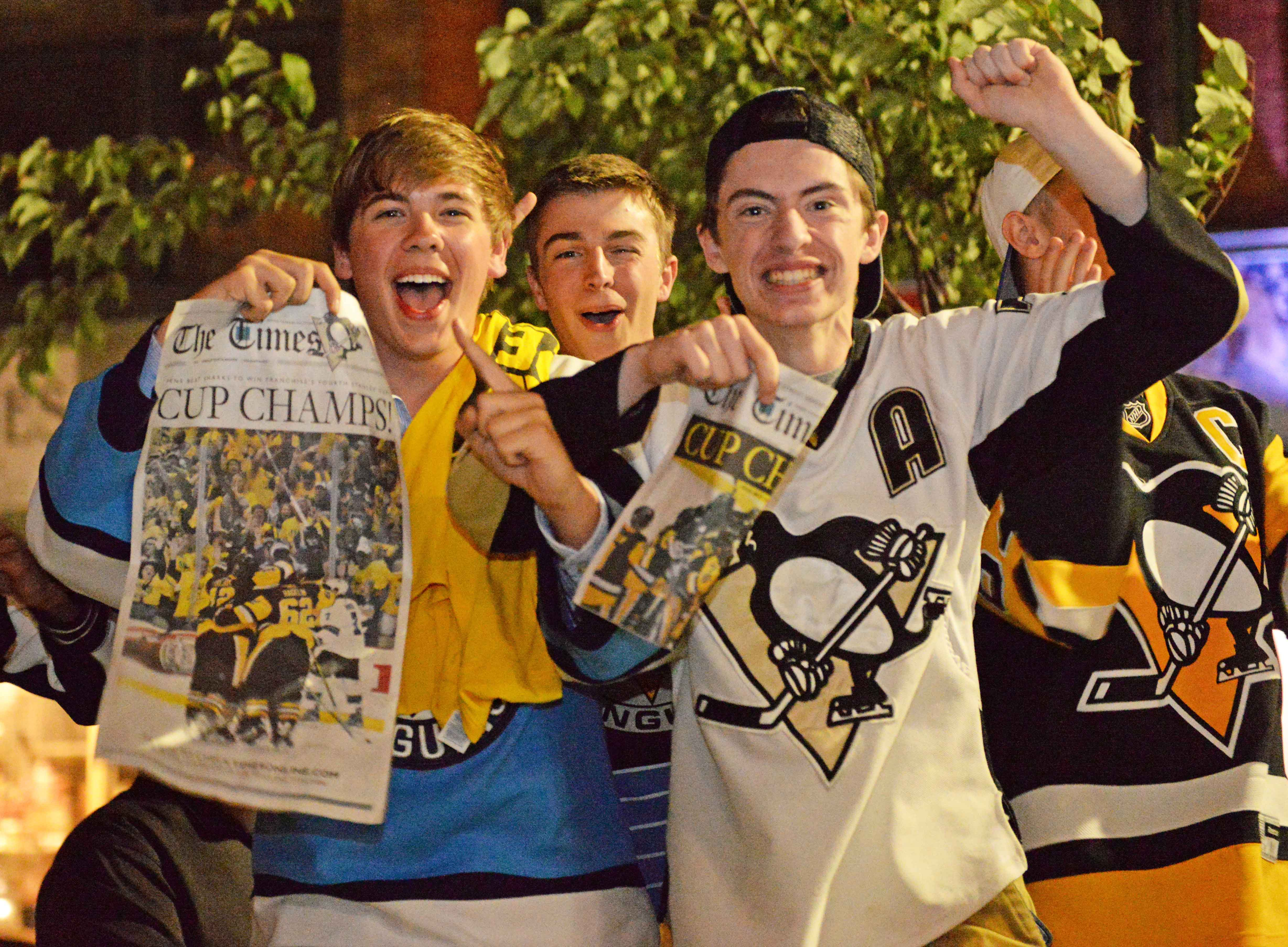 Penguins fans celebrate the team's fourth Stanley Cup title. Kate Koenig | Visual Editor