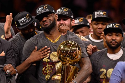 LeBron James won his third NBA championship and third NBA Finals MVP in historic fashion. (TNS)