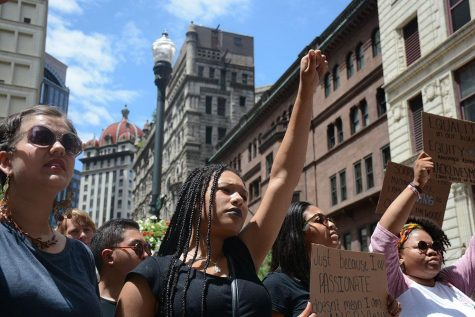 More than one thousand march downtown in Black Lives Matter protest