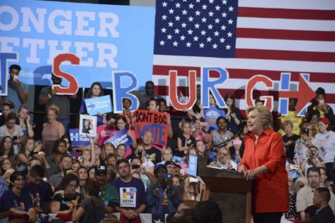 Clinton – Kaine ticket makes Pittsburgh debut