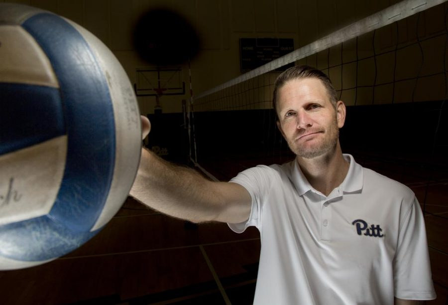Pitt+volleyball+coach+Dan+Fisher+has+had+great+success+on+both+the+collegiate+and+international+stages.+Theo+Schwarz+%7C+Senior+Staff+Photographer%0A
