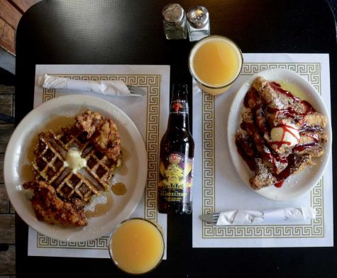 A brunch spread at Peter's Pub. Photo by Stephen Caruso.
