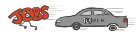 Uber's self-driving cars leave drivers behind