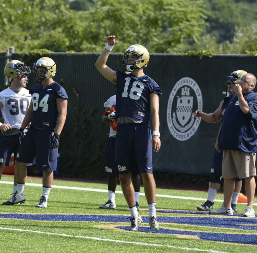 Junior+Ryan+Winslow+has+been+Pitt%27s+starting+punter+for+the+past+two+seasons.+Stephen+Caruso+%7C+Visual+Editor