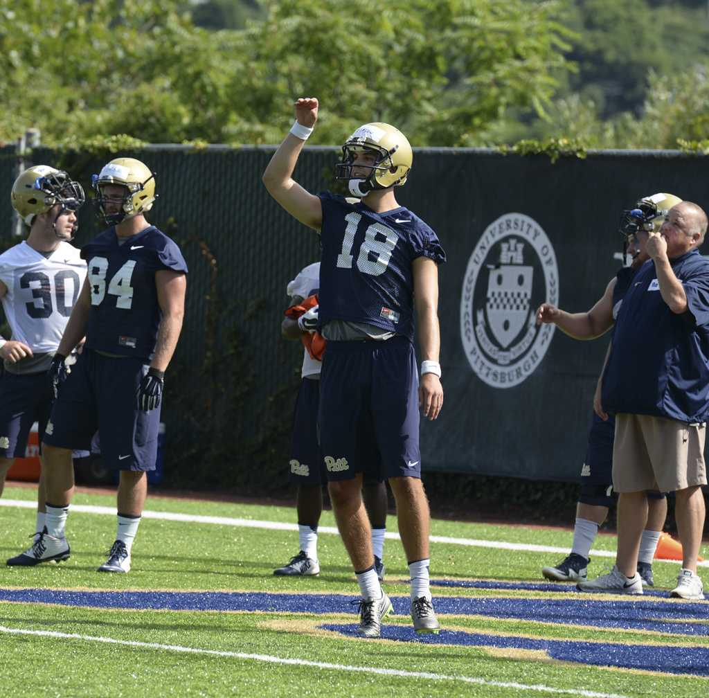Junior Ryan Winslow has been Pitt's starting punter for the past two seasons. Stephen Caruso | Visual Editor