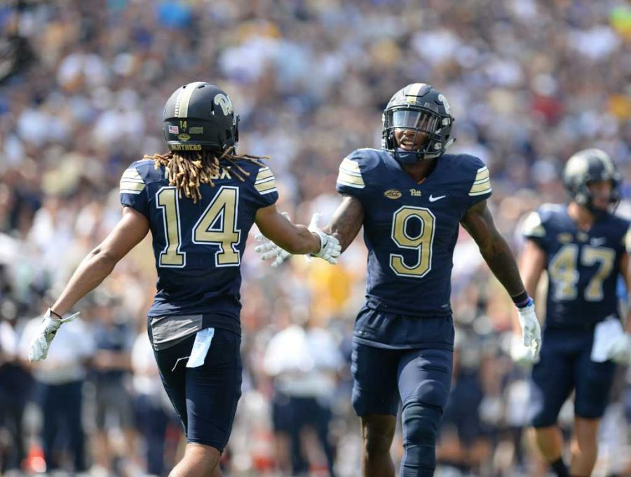 Pitt%27s+defense+could+receive+a+huge+boost+against+Georgia+Tech+on+Saturday+with+the+return+of+safety+Jordan+Whitehead+%289%29.++John+Hamilton+%7C+Staff+Photographer