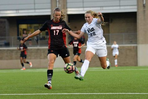 Pitt women's soccer shut out in ACC opener vs. Louisville, 1-0
