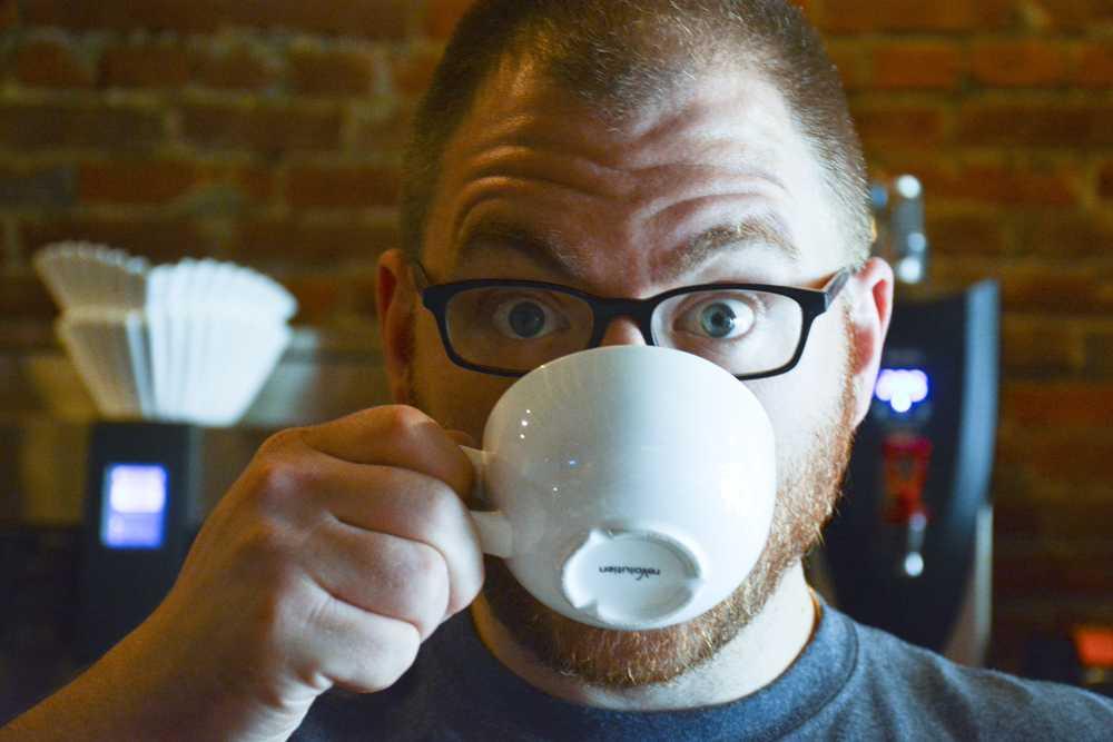 Matt Gebis started Espresso a Mano in Lawreceville in 2009. Stephen Caruso / Senior Staff Photographer.