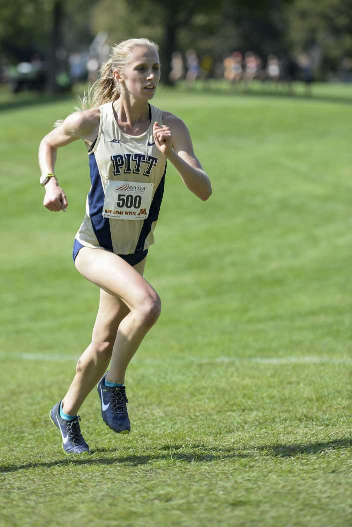 Pitt's women's cross country team is coming off the best regional performance in program history. -- Copyright Christopher Mitchell / SportShotPhoto.com