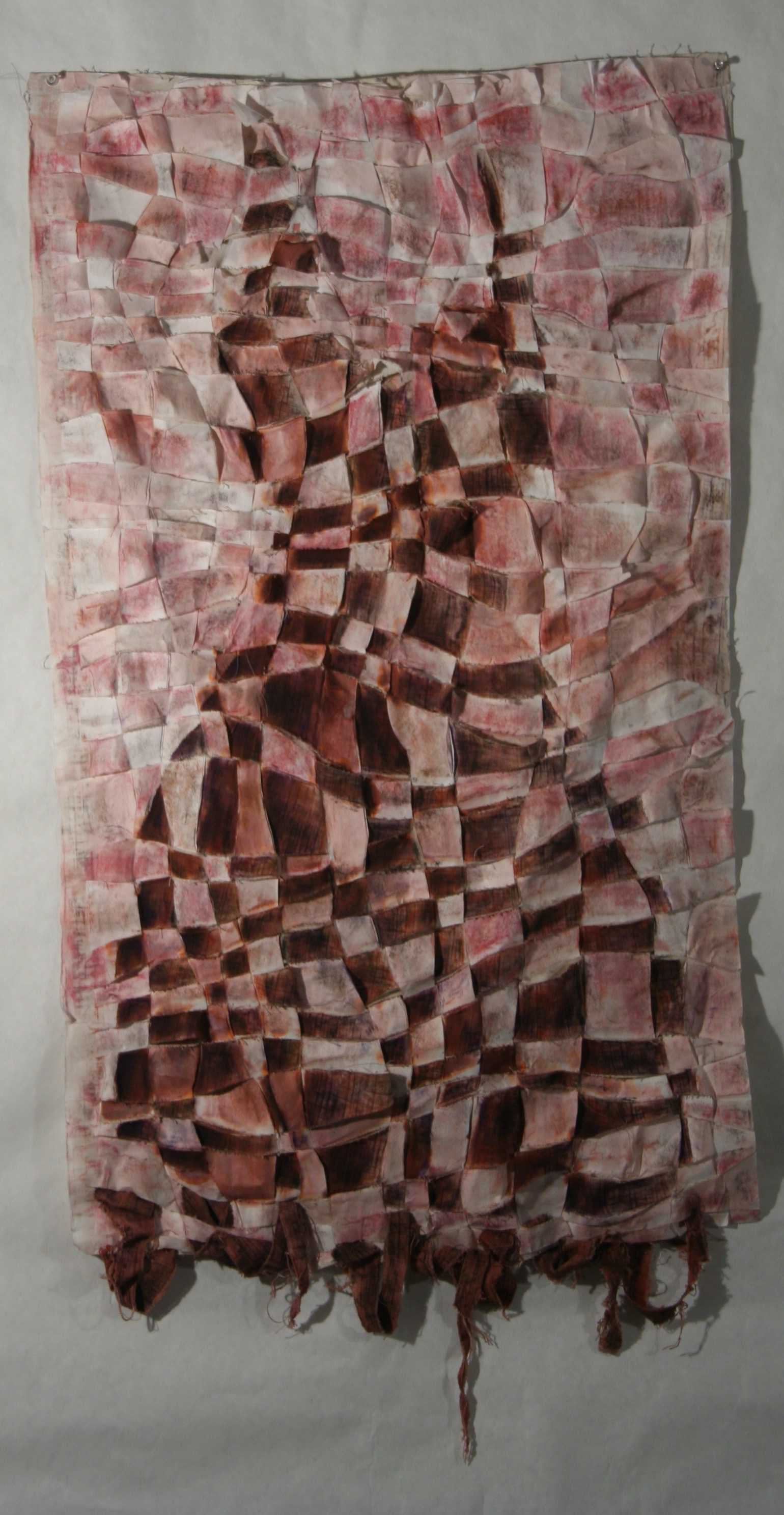 %22A+Memory%22%3A+%22This+is+rice+paper+woven+with+fabric.++Both+are+covered+with+ink+and+pastels.++This+was+my+first+integration+of+fabric+into+my+work+%E2%80%94+besides+canvas+%E2%80%94+and+I+see+it+as+a+representation+of+a+fragmented+memory.++Something+intriguing+in+the+way+that+an+old+piece+of+clothing+was+once+beautiful.%E2%80%9D