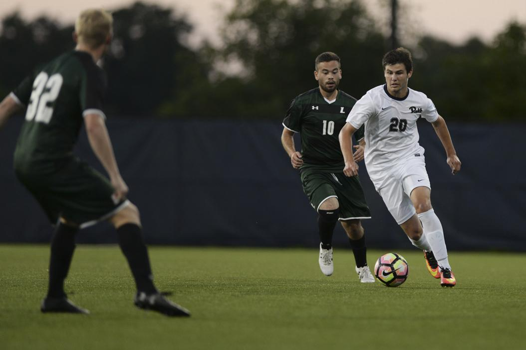 Pitt's men's soccer team suffered its third straight loss Friday night against the Boston College Eagles. John Hamilton | Staff Photographer