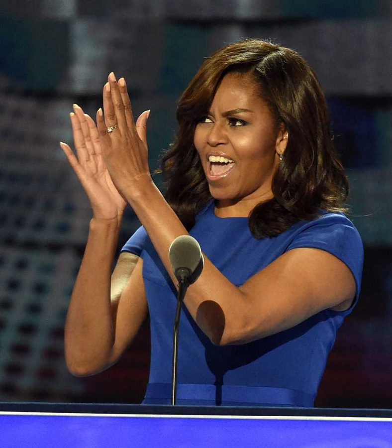 First+Lady+Michelle+Obama+will+visit+the+University+Wednesday+afternoon.+TNS