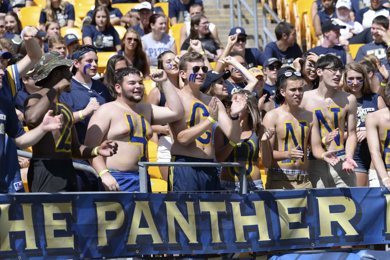 Fans won't be allowed to walk into the gravel lot to tailgate before the Pitt-Penn State game this weekend. Jeff Ahearn / Senior Staff Photographer.