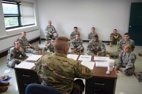 Army ROTC starts training for sexual assault awareness, suicide prevention