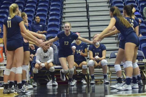 Volleyball starts ACC play with two weekend wins