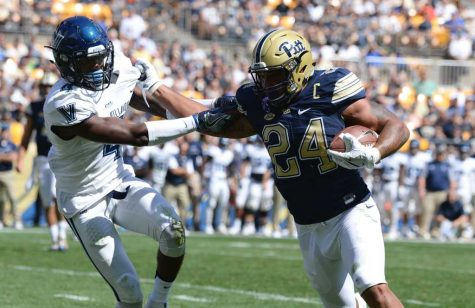 James Conner returns, Pitt tops Villanova 28-7
