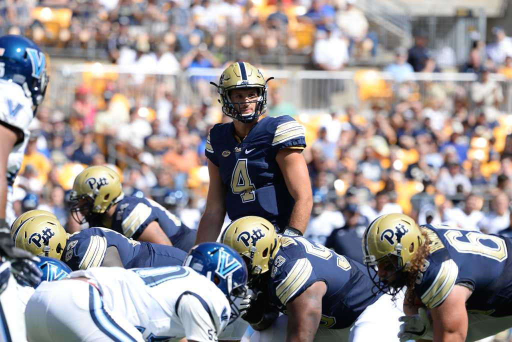 Pitt quarterback Nathan Peterman threw for 2,855 yards and 27 touchdowns in the 2016 season. Jeff Ahearn | Senior Staff Photographer