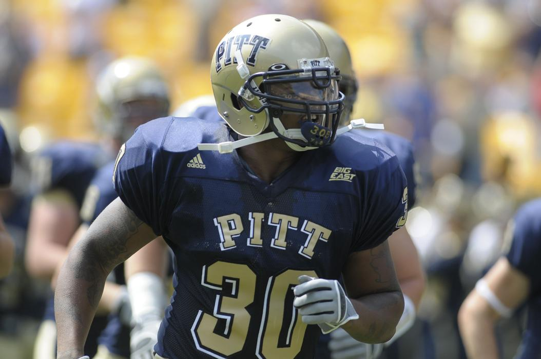 Conredge Collins' lawsuit against the NCAA and the AAC is one of 43 cases filed since May involving the aftermath of football-related concussions. Courtesy of Pitt Athletics
