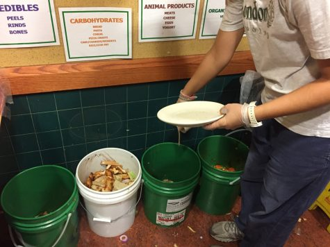 Students waste 1,145 pounds of food daily