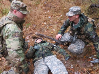 ROTC trains cadets in effective communication, first aid