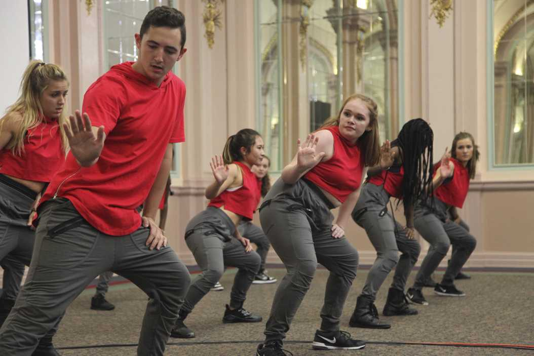 The Hip-Hop Dance Crew's Controlled Chaos performed in the William Pitt Union Monday night. Julia Zhu | Staff Photographer