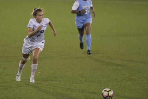 Pitt women's soccer thrashed by No. 18 North Carolina, 3-0