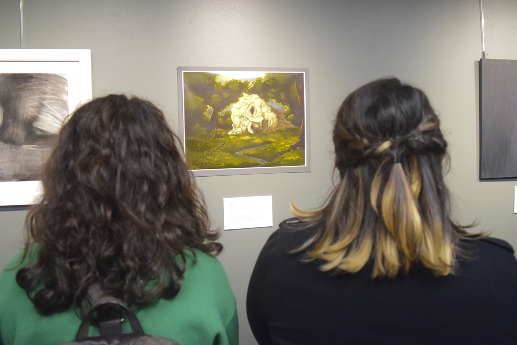 Students observe submissions at