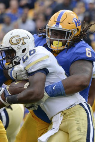 Tyrique Jarrett saves Pitt in fourth quarter against Georgia Tech