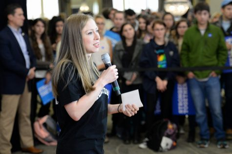 Chelsea Clinton visited Pitt to support Hillary, encourage voting
