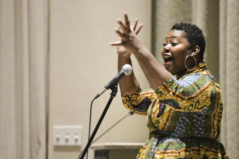 Black poets speak about police brutality