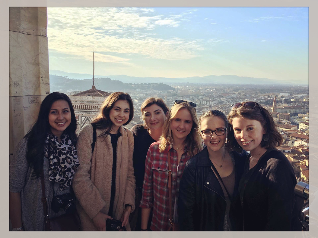 Miranda Bridgwater used Twitter and her family to keep up with the election while studying abroad in Florence, Italy. | Courtesy of Miranda Bridgewater
