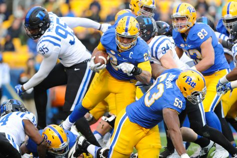 Pitt football decimates Duke in highest scoring game of season, 56-14