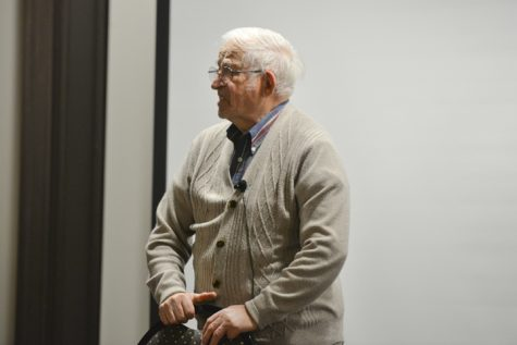 Holocaust survivor speaks at Pitt