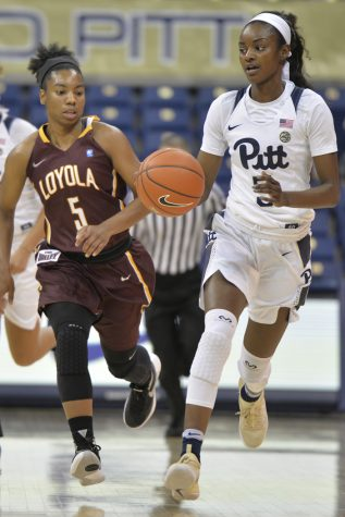 Pitt women's basketball rumbles to 59-35 win over Ramblers