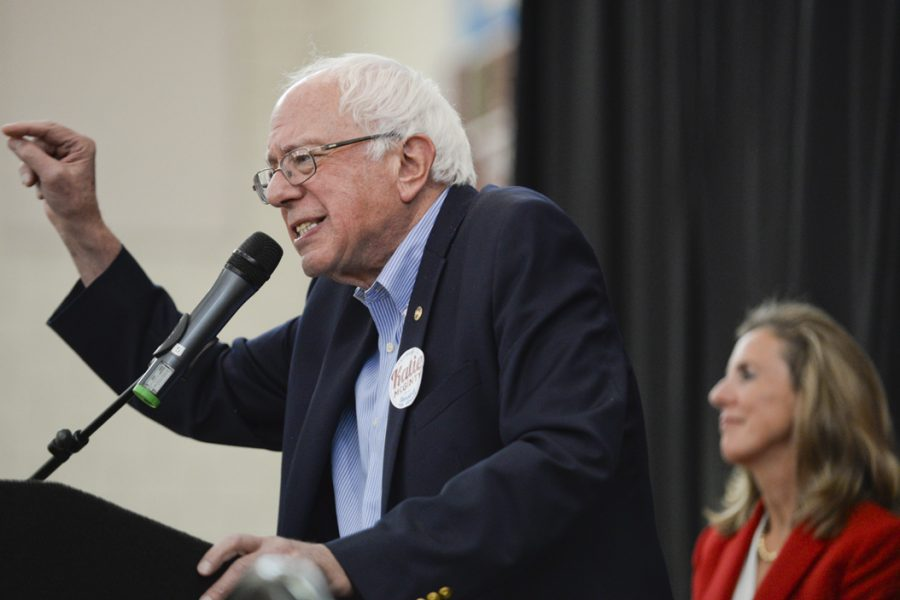 After losing to Clinton in the democratic primaries, Sanders endorsed Clinton and began campaigning for her. The Vermont senator stopped at CMU to campaign for Clinton and Katie McGinty. John Hamilton | Senior Staff Photographer