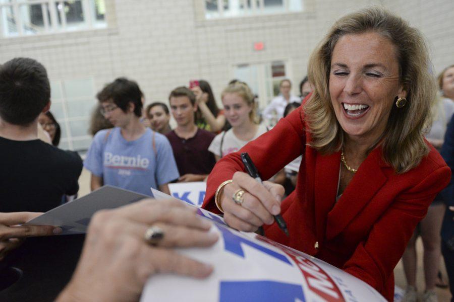 Democratic Katie McGinty ran for US Senate against incumbent Pat Toomey. John Hamilton | Senior Staff Photographer