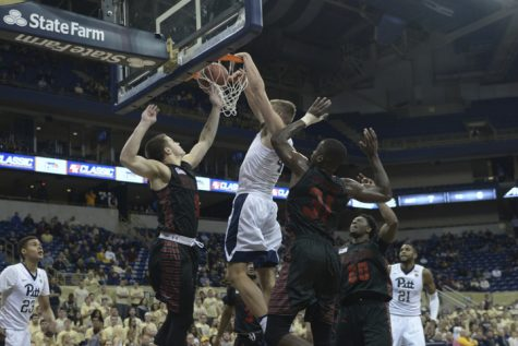 Pitt men's basketball waxes Gardner-Webb, 99-80
