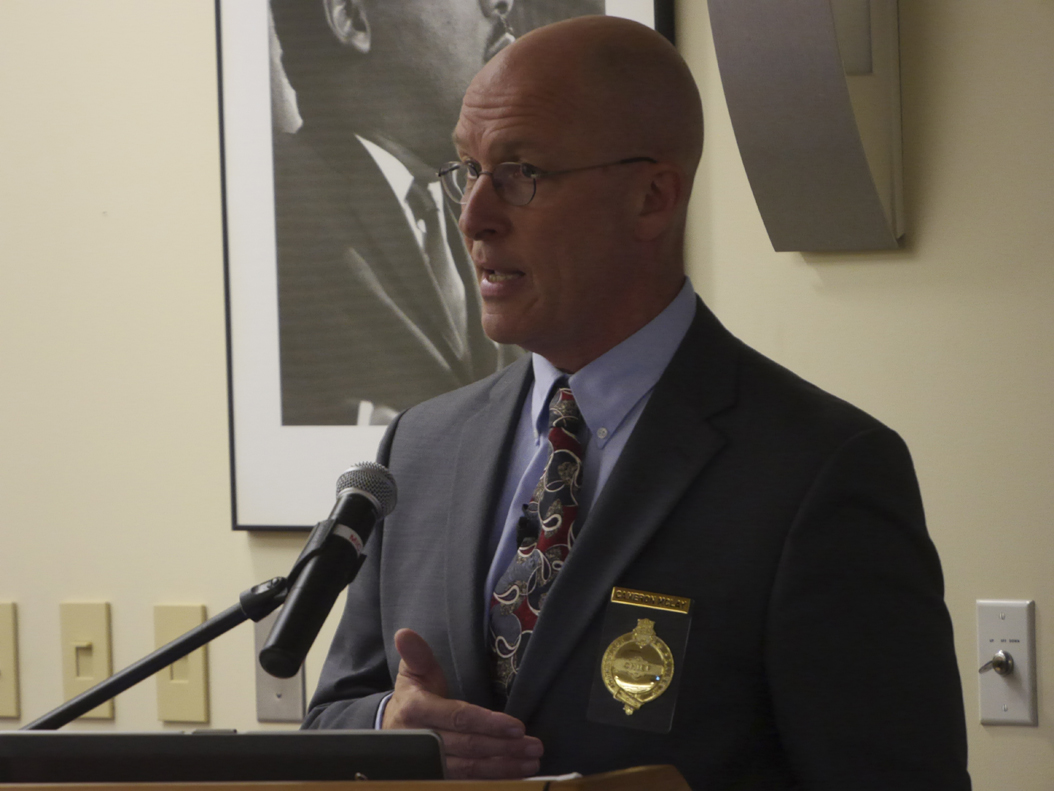 Pittsburgh Police Chief Cameron McLay, who announced his resignation on Friday, will work in his current post until Nov. 8. Pitt News File Photo