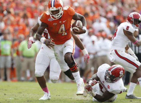 Prediction: Clemson QB Watson to throttle Panthers defense