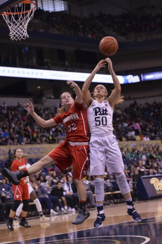 Pitt women's basketball romps to 94-48 win vs. Slippery Rock