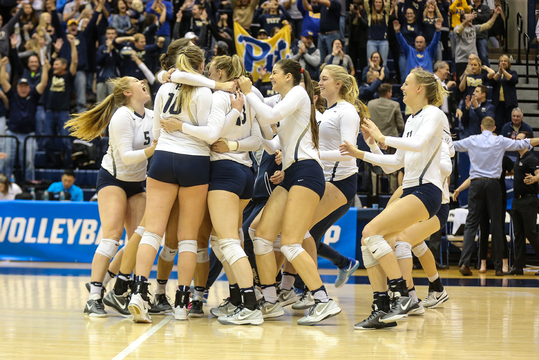 The women's volleyball team made it to the second round of this year's NCAA Tournament. | Courtesy Pitt Athletics