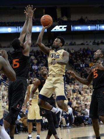 Senior point guard Jamel Artis led the Panthers with 15 points in a 72-46 loss against Miami on Saturday. Jeff Ahearn | Senior Staff Photographer