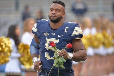 Pitt senior defensive end Ejuan Price tallied 13 sacks in 2016 to finish with 29.5 for his college career. Steve Rotstein | Contributing Editor