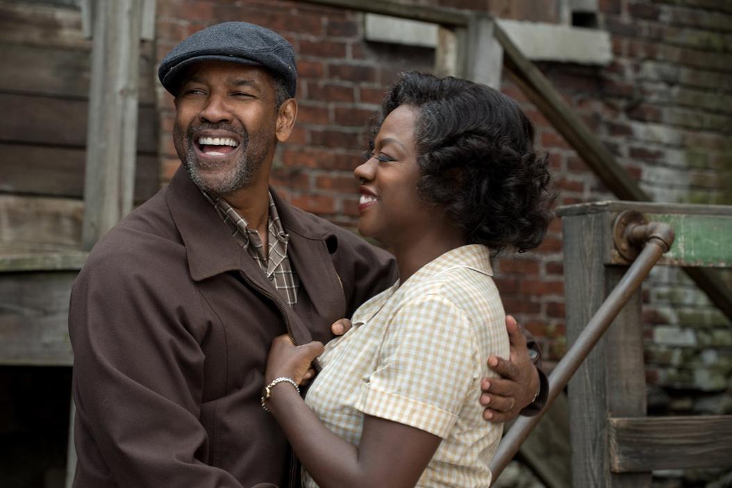 Denzel Washington and Viola Davis in