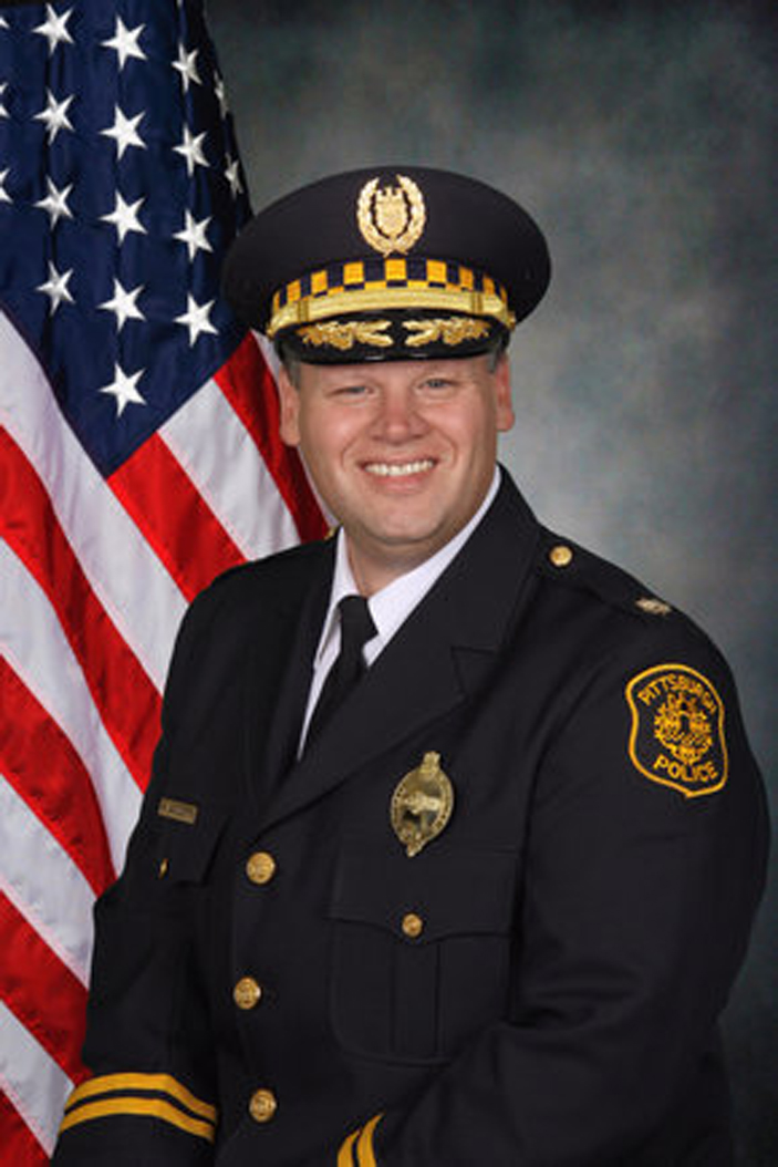 Scott Schubert was appointed as police chief on Friday by Mayor Bill Peduto. | Courtesy of City of Pittsburgh