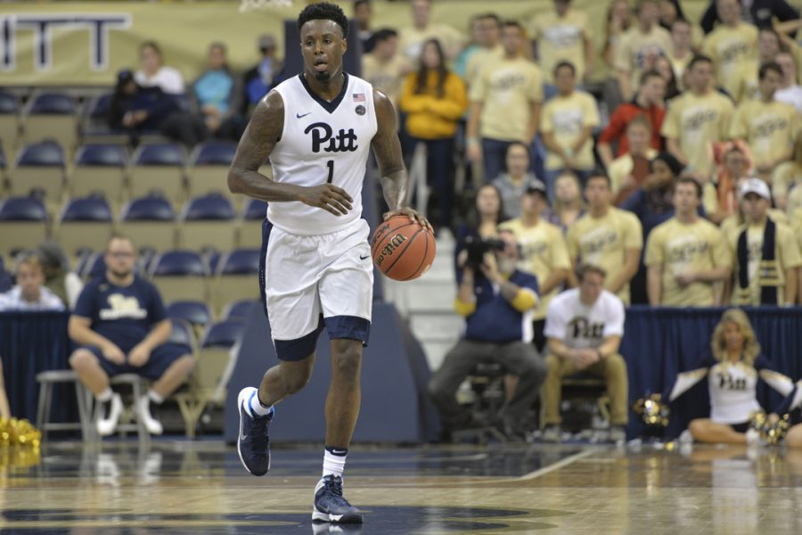 Pitt+senior+point+guard+Jamel+Artis+scored+a+career-high+43+points+in+an+85-80+loss+at+Louisville%2C+the+Panthers%27+first+40-point+game+in+almost+20+years.+Meghan+Sunners+%7C+Asst.+Visual+Editor