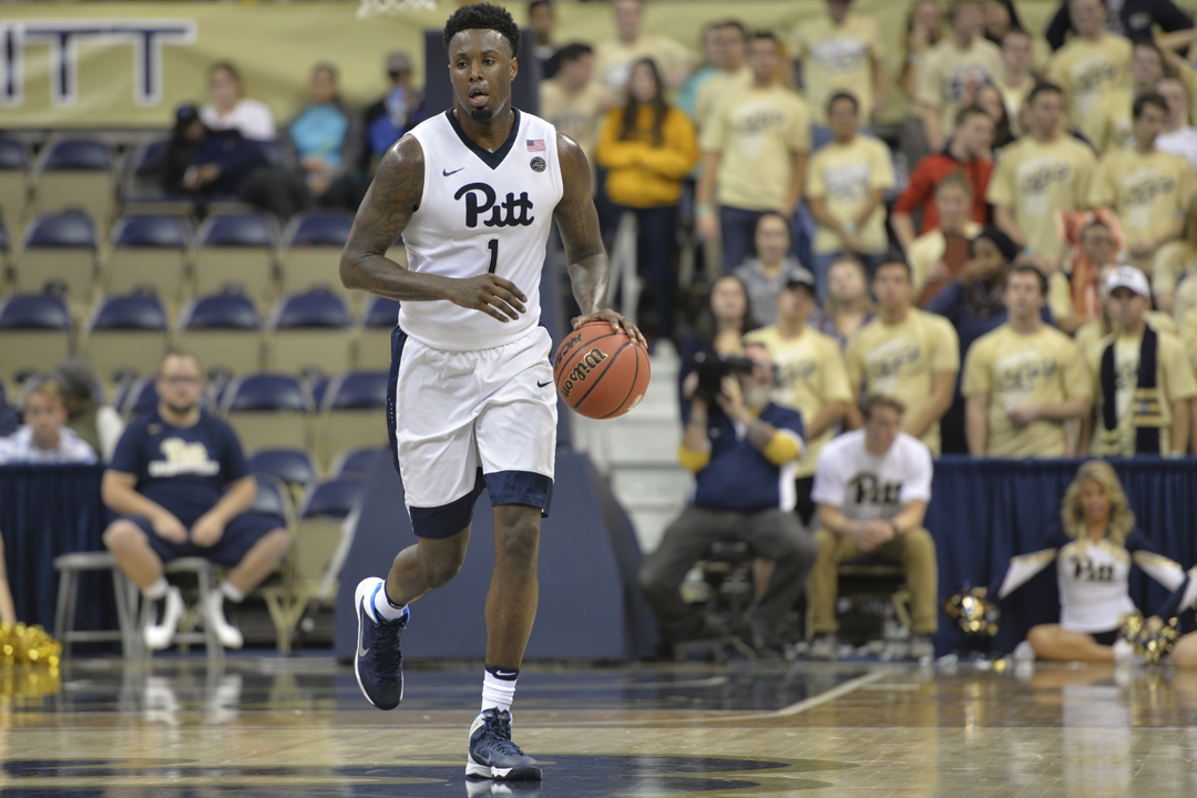 Pitt senior point guard Jamel Artis scored a career-high 43 points in an 85-80 loss at Louisville, the Panthers' first 40-point game in almost 20 years. Meghan Sunners | Asst. Visual Editor